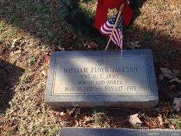 grave site of william floyd jackson 1912 1975 billiongraves headstone image of william floyd jackson