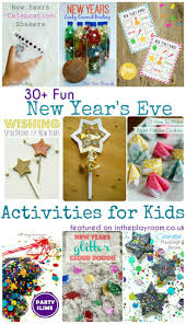 New Year Craft Ideas New Years Eve Activities For Kids The Playroom