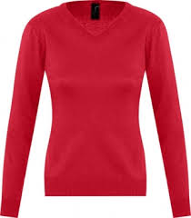 <b>Свитер женский GALAXY WOMEN</b> красный, размер XS, цена — 1 ...