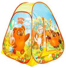 Купить <b>Палатка Играем вместе</b> Винни-Пух конус в сумке GFA ...