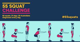The 55 <b>Squat</b> Challenge