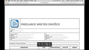 write a lance writer invoice excel word pdf write a lance writer invoice excel word pdf
