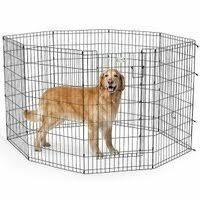 <b>Вольер</b> для собак <b>Midwest Life Stages</b> 8 панелей с дверью MaxLock
