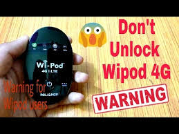 Reliance Wipod 4G users pay attention...     - YouTube