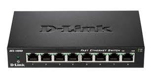 <b>Коммутатор D-Link DES-1008D/L2B</b> Черный, купить в Москве ...
