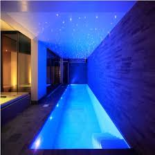 see how this pool area has ambient star lighting to create theatre whilst swimming ambient room lighting