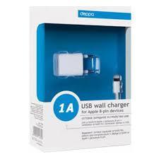 Сетевое <b>зарядное устройство</b> DEPPA 11305 <b>ULTRA</b> USB, 1 А ...