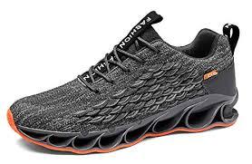 TSIODFO Springblade Sports <b>Sneakers for</b> Men <b>Mesh Breathable</b>