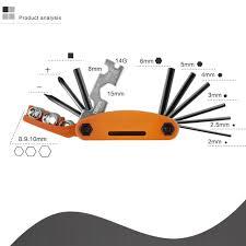 Mountain bike <b>multi</b>-<b>function</b> repair tool <b>Multi</b>-<b>purpose</b> folding tool ...