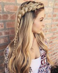 Long Hairstyles With Braids Long Hairstyle With A Braid Hair Ideas Pinterest Sexy Your