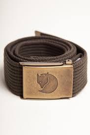 Ремень FJALLRAVEN <b>Canvas</b> Belt 4cm (Mountain Grey-032, O/S ...