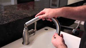 Changing A Kitchen Faucet How To Install A Kitchen Faucet Buildcom Youtube