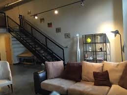 downtown lexington loft living: we love the industrial chic vibe of this lexington loft image airbnb