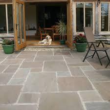 patio slab sets: pavestone paving antique sandstone tudor oxford paving slabs mixed size