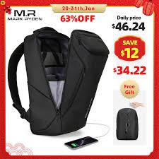 Mark Ryden 2020 New Anti thief Fashion <b>Men Backpack</b> ...