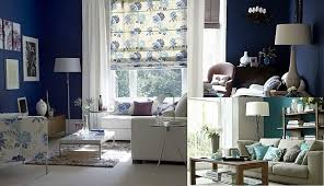 view in gallery blue room white furniture