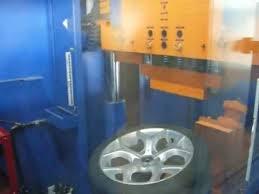 Тест на удар (обод) - колесные литые диски на BMW (БМВ).<b>WSP</b> ...