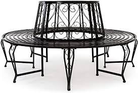 <b>Tree Seat bench</b> made of powder coated steel Garden Outdoor ...