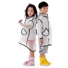 <b>Transparent</b> Raincoat Boys Rain Coat Hooded Outdoors Clear ...