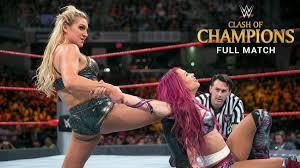 Charlotte vs. Sasha Banks vs. Bayley - Raw Women's Title Triple ...