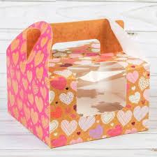 <b>Упаковка для выпечки Дарите</b> Счастье 2699935 Коробочка ...