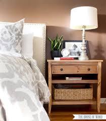 diy bedside table plans free plans bed side furniture