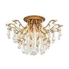 Хрустальные люстры : <b>Потолочная люстра Silver</b> Light Clare ...