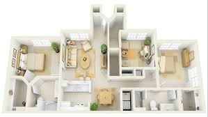"Three "" "" Bedroom Apartment House Plans   Architecture  amp  Design  cheap   bedroom house plans"