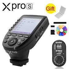 <b>Godox XPro</b>-<b>S</b> 2.4G TTL X System Wireless Flash Trigger + XTR-16 ...