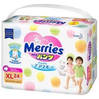 <b>Merries трусики XL</b> (12-22 кг) 24 шт. — <b>Подгузники</b> — купить по ...