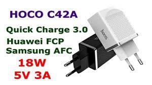 <b>Hoco C42A</b> обзор и тест <b>зарядного устройства</b> Quick Charge ...