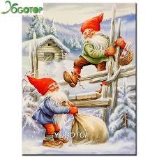 YOGOTOP <b>DIY Diamond</b> Painting cross stitch Mosaic Crafts Santa ...