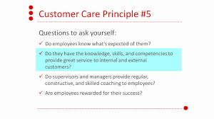5 core principles of customer care 5 core principles of customer care