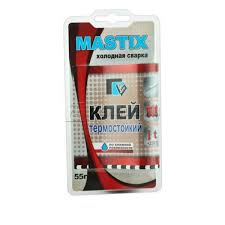 <b>Клей</b> термостойкий <b>Mastix</b> МС 0115, <b>холодная</b> сварка, HS.110041 ...