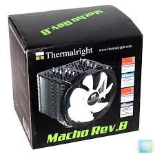 Обзор и тест <b>Thermalright Macho</b> Rev.B — i2HARD