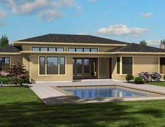 House design  House plans and Google search on PinterestModern Plan   Open Layout  This one story modern ranch style home comes loaded