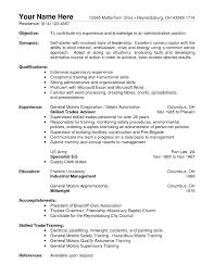 maintenance supervisor cv resume maintenance resume template