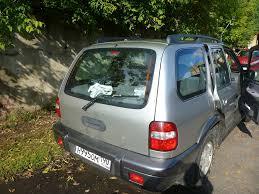 <b>спойлер на дверь багажника</b> — KIA Sportage, 2.0 л., 2005 года на ...