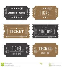 paper tickets numbers set of vector templates entry ticket paper tickets numbers set of vector templates entry ticket
