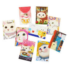 Online Shop 10 <b>Pcs</b>/<b>lot</b> New Fashion Cute Cats Postcards Group ...