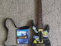Комплект для игры <b>Guitar hero</b> PS4 (<b>гитары</b> и диск) купить в ...