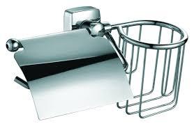 <b>Держатель туалетной бумаги Fixsen</b> Kvadro FX-61309+10 с ...