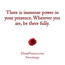 Immense Power - Elena Notara - Inspirational Mystical Poetry + ... via Relatably.com