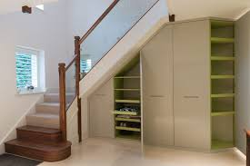 awesome white brown wood glass unique design under stair storage shelves fence glass wood under green awesome white brown wood glass unique design