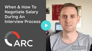 when how to negotiate salary during an interview process when how to negotiate salary during an interview process