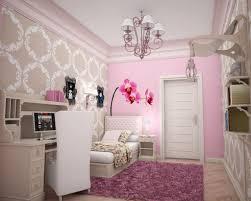 Little Girls Bedroom Decorating Bedroom Mini Photograph Tall Night Lamp Pink Drawers Magenta