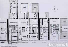 Floor plan of the new home purchased by Tom Cruise and Katie    Floor plan for Katie Holmes and Tom Cruise    s new house at West th