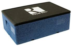 Купить <b>Royal Box Изотермический контейнер</b> Unique синий 32 л ...
