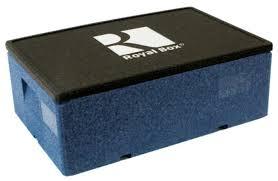Купить <b>Royal</b> Box <b>Изотермический контейнер</b> Unique синий 32 л ...