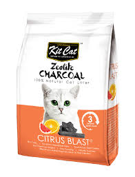 <b>Kit Cat Zeolite</b> Charcoal Citrus Blast 4kg | PerroMart Singapore ...